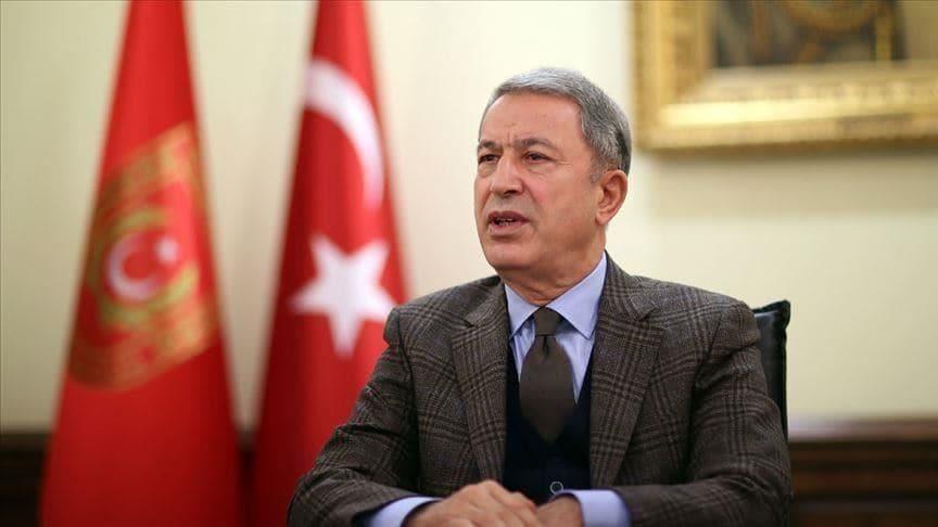 Milli Savunma Bakanı Hulusi Akar'dan kritik görüşme!