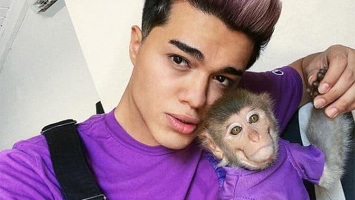 Sosyal medya fenomeni Meriç İzgi'ye baskın! Evindeki maymunu yasadışı yollarla elde ettiği ortaya çıktı