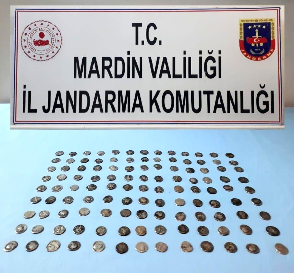 Mardin'de tarihi eser kaçakçılığı operasyonu!