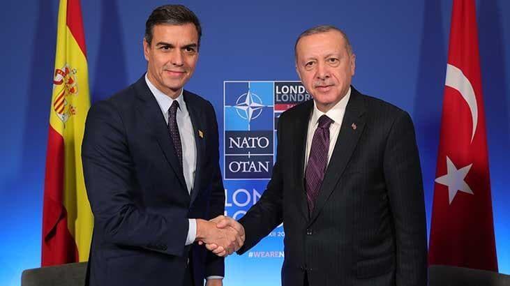 Başkan Erdoğan, İspanya Başbakanı ile görüştü