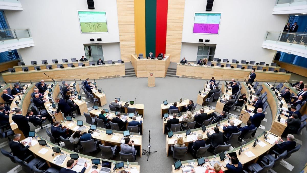Litvanya Parlamentosu Belarus muhalefet liderini ''devlet başkanı'' olarak tanıdı