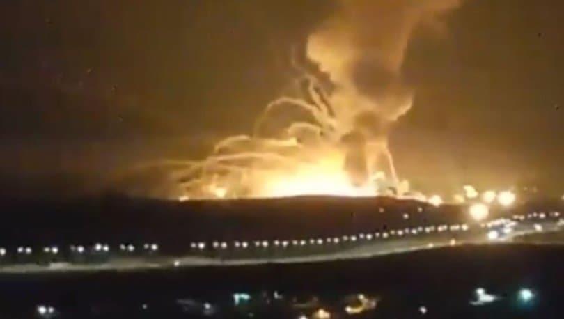 Ürdün'de korkutan patlama!