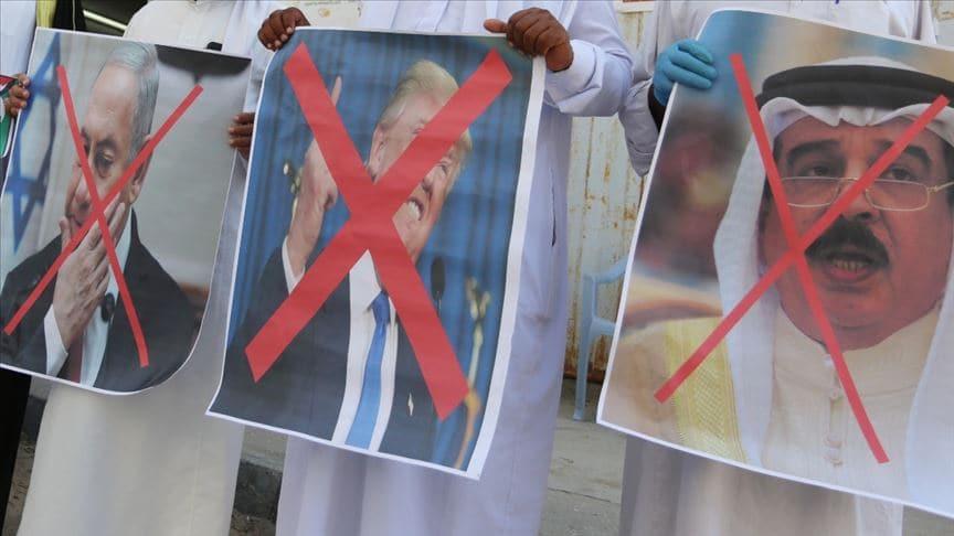 Arap dünyasından Bahreyn-İsrail normalleşmesine tepki! 'Filistin halkına vurulmuş bir bıçak darbesi'