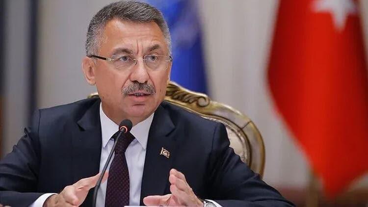 Cumhurbaşkanı Yardımcısı Oktay'dan Yunanistan tepkisi