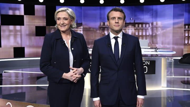 Türkiye düşmanlığında birleştiler! Aşırı sağcı Le Pen'den Macron'a destek