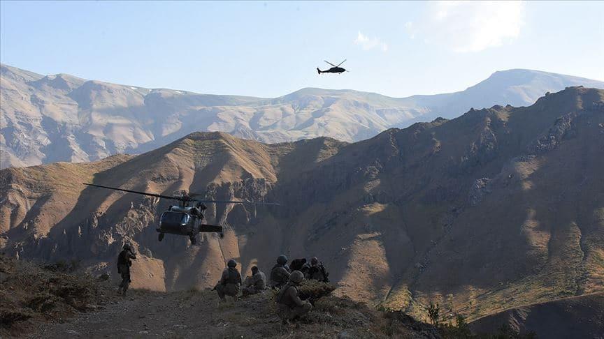Yıldırım-2 Cilo operasyonunda 3 terörist etkisiz hale getirildi