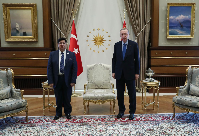 Başkan Erdoğan, Bangladeş Dışişleri Bakanı'nı kabul etti