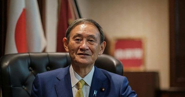 Japonya'nın yeni başbakanı Suga Yoşihide oldu!