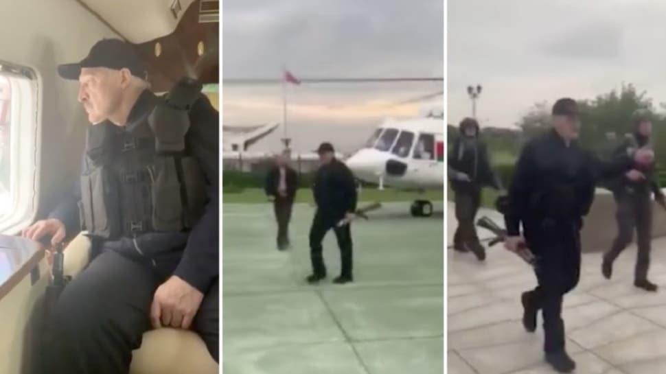 Protestoculara karşı silahla gövde gösterisi yapmıştı... Lukaşenko: Baskıcı değil, barışçıl biriyim