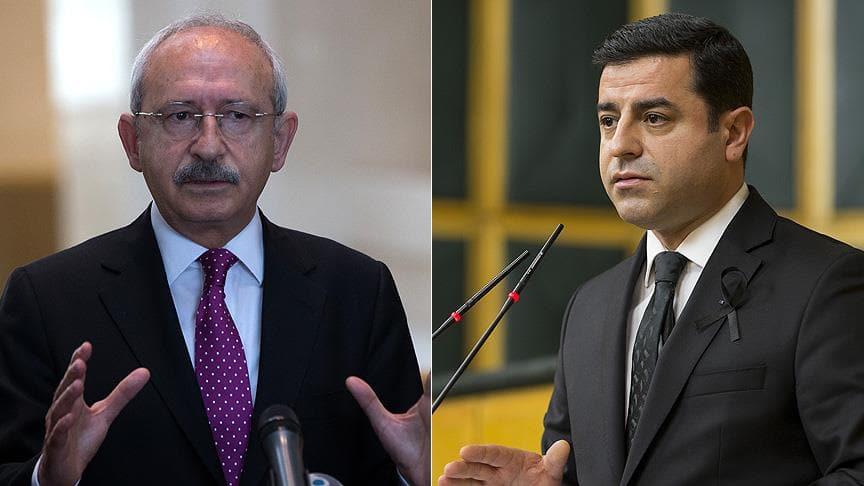 Kılıçdaroğlu, terörü destekleyen Demirtaş'a sahip çıktı: Onur madalyası olarak asacaktır