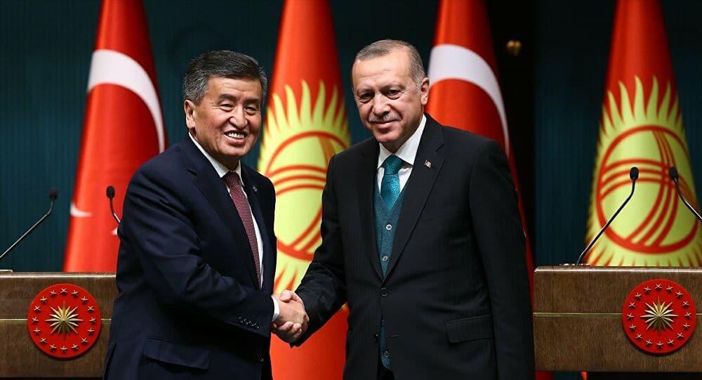Başkan Erdoğan Kırgızistan Cumhurbaşkanı ile görüştü