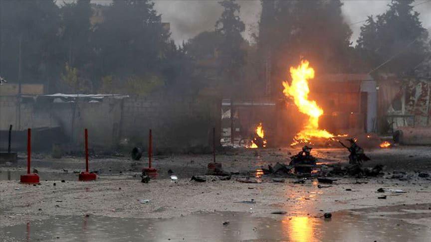 Suriye'nin kuzeyindeki Rasulayn'da terör saldırıları: 2 ölü, 11 yaralı