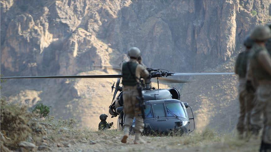 İçişleri Bakanlığı: 2 PKK'lı etkisiz hale getirildi
