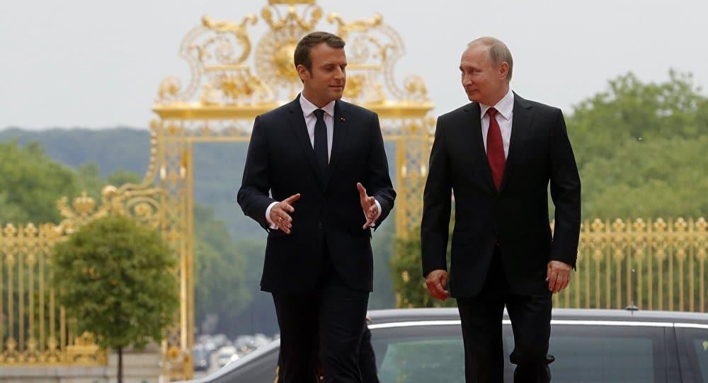 Putin ve Macron'un görüşmesinin içeriği basına sızdı! Soruşturma başlatıldı