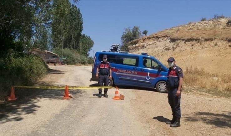 Afyonkarahisar'da bir belde karantinaya alındı