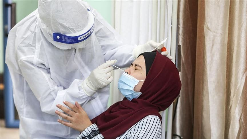 Filistin'de koronavirüs vaka sayısı 51 binin üzerine çıktı