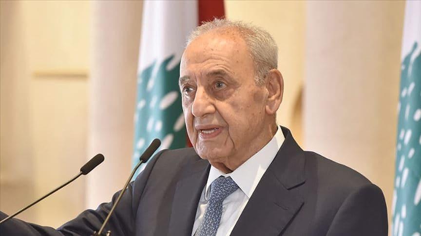 Lübnan Meclis Başkanı: İsrail'le sınırları belirleme müzakereleri için anlaşmaya varıldı