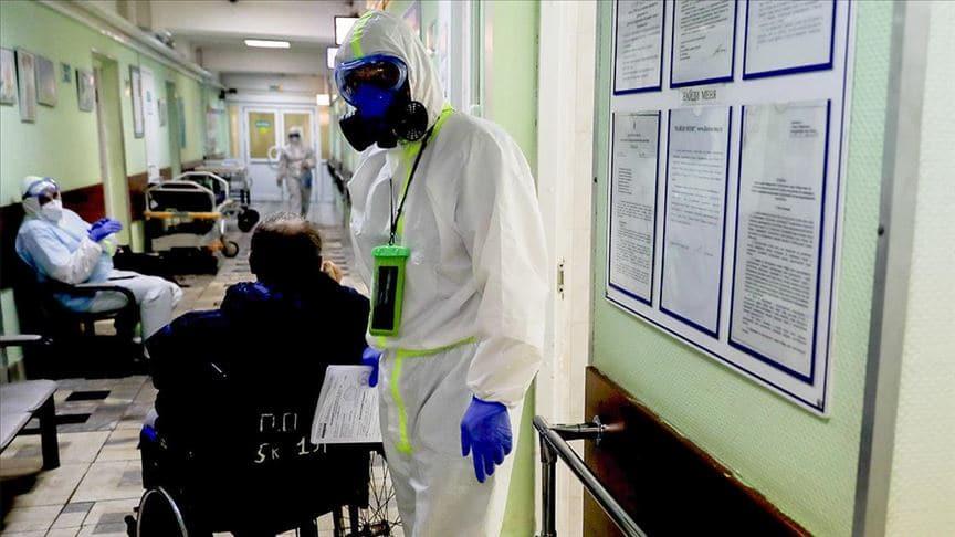 Rusya'da koronavirüs bilançosu:  Vaka sayısı 1 milyon 185 bini aştı