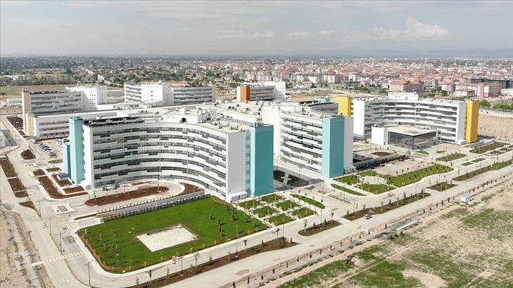 Konya Şehir Hastanesi bugün açılıyor... Açılışını Başkan Erdoğan yapacak