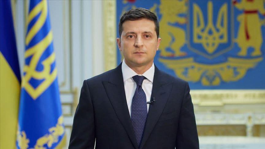 Ukrayna Devlet Başkanı Zelenskiy: Azerbaycan'ın toprak bütünlüğünü destekliyoruz