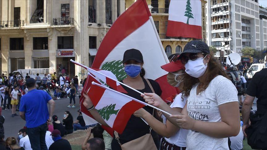 Lübnan'da ağırlaşan yaşam şartları protesto edildi