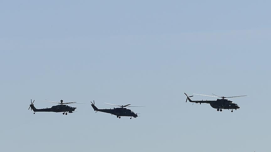 Rusya'ya ait helikopter, Japonya hava sahasını ihlal etti