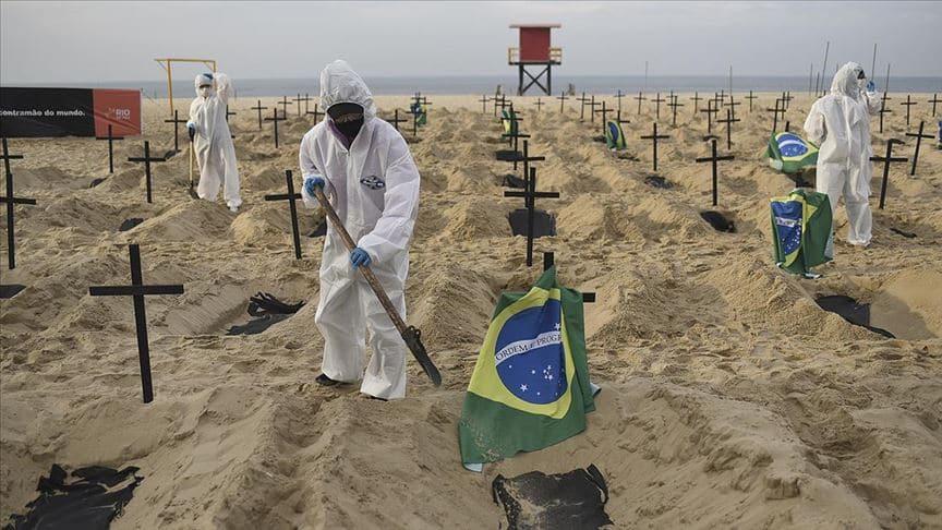 Latin Amerika ülkelerinde koronavirüs ölümleri artıyor
