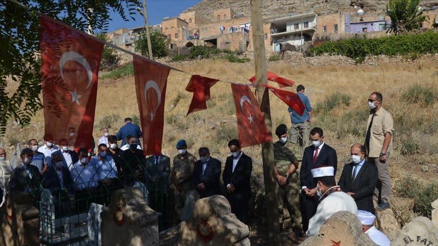 Mardin'deki terör saldırısında şehit olan 26 vatandaşımız anıldı
