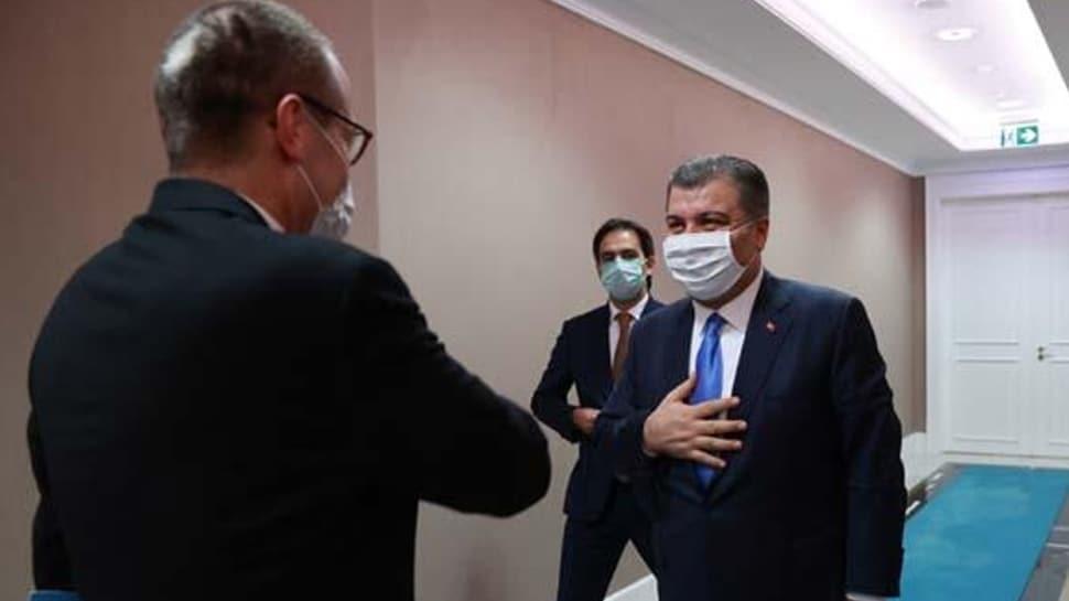 Sağlık Bakanı Koca'dan DSÖ Direktörü Kluge'ye teşekkür
