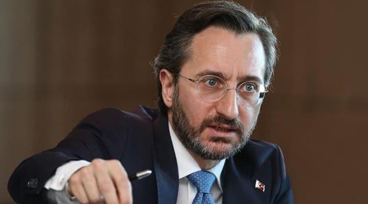 İletişim Başkanı Altun'dan uluslararası topluma çağrı