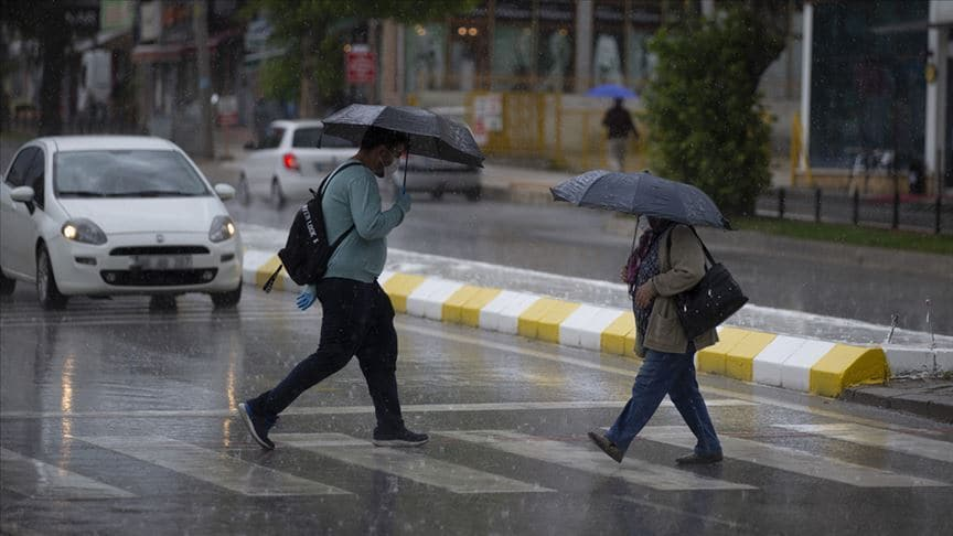 Meteoroloji'den Doğu Anadolu'da sağanak yağış uyarısı!