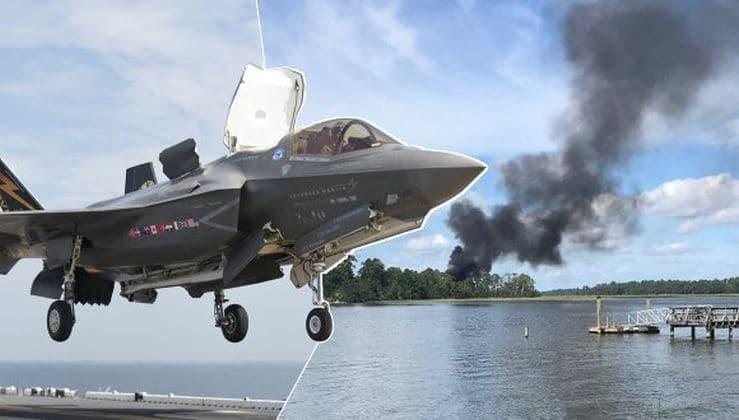 ABD'de F-35 kazasından 'sistem arızası' çıktı
