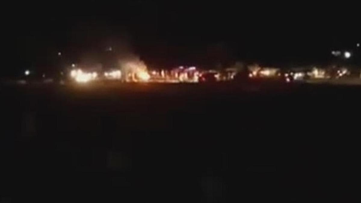 Afrin'de PKK/YPG'li teröristler bombalı araçla saldırdı