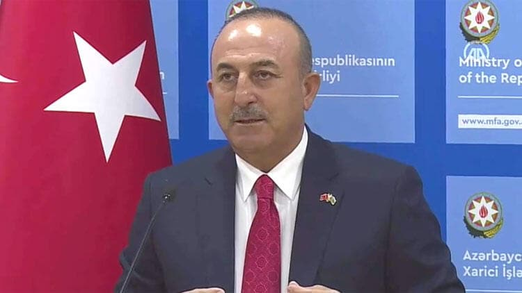 Bakan Çavuşoğlu Bakü'den dünyaya seslendi: Karabağ Azerbaycan'ındır