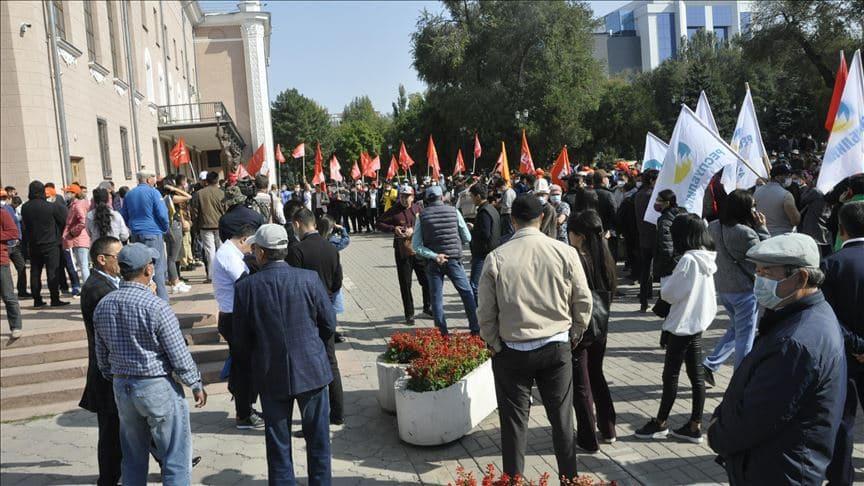 Dışişleri Bakanlığı: Kırgızistan'da meydana gelen gelişmelerden derin endişe duyuyoruz
