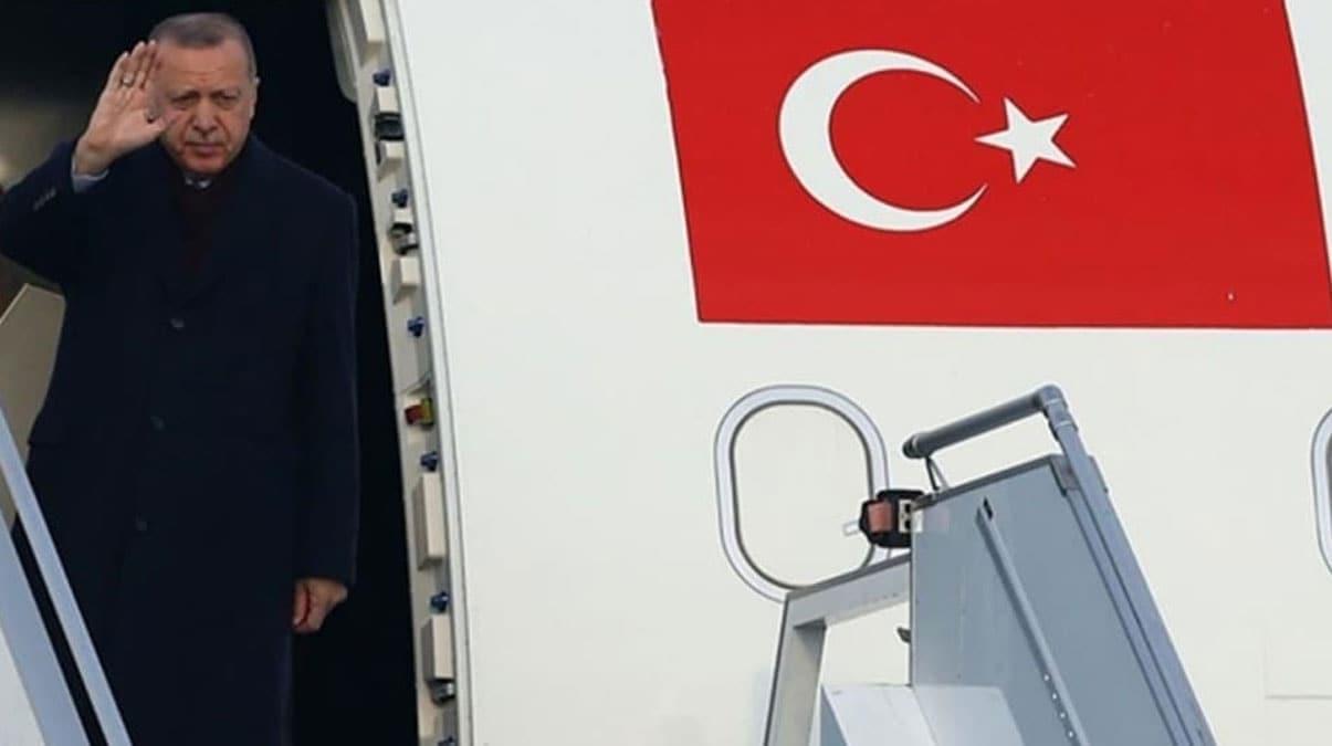 Başkan Erdoğan Kuveyt ve Katar'a gitti