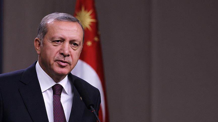 Başkan Erdoğan'dan şehidimizin ailesine başsağlığı mesajı