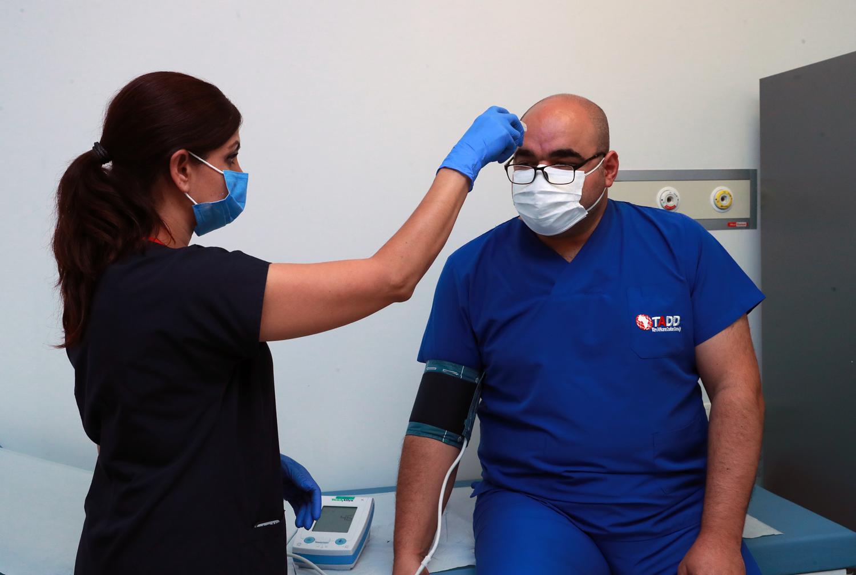 Koronavirüse karşı aşı çalışmaları Ankara Şehir Hastanesinde başlandı