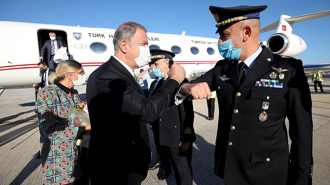 Bakan Akar: Türkiye ve İtalya arasındaki iş birliğinin daha ileri seviyelere ulaşacağına inanıyorum