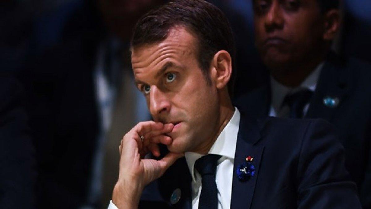 Macron İslam'ı hedef aldı başörtü karşıtları harekete geçti! Skandal başörtüsü talebi