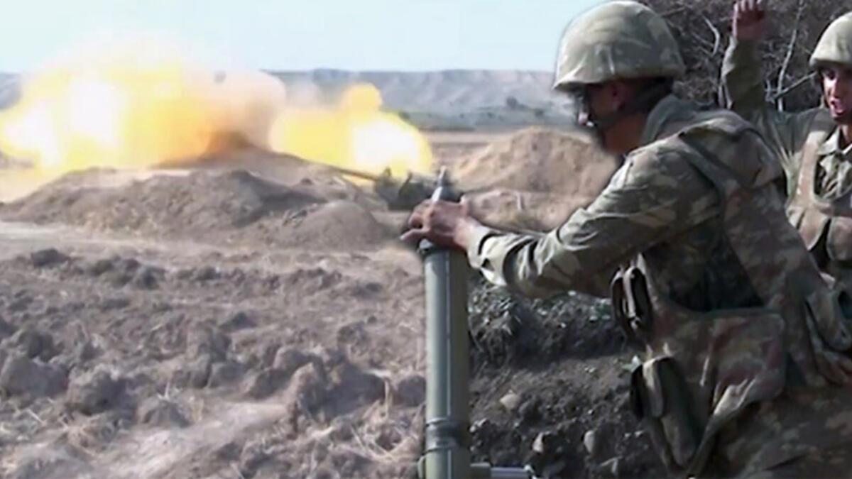 Azerbaycan ordusu operasyonlarını kararlılıkla sürdürüyor