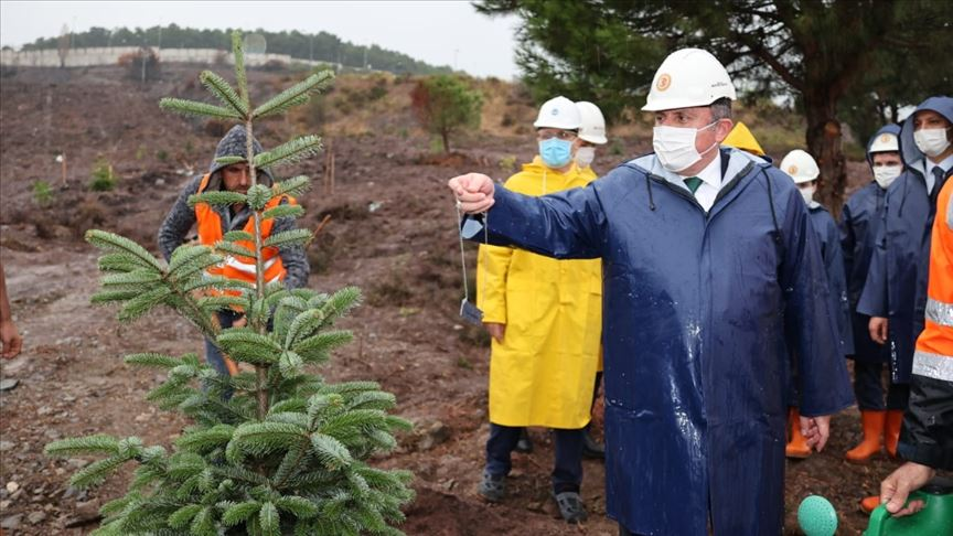 TBMM Başkanı Şentop, Marmara Üniversitesi Recep Tayyip Erdoğan Külliyesi inşaatını inceledi