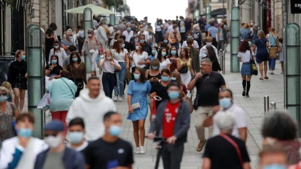 Fransa'da bir ilk! Günlük koronavirüs vaka sayısı 20 bini aştı