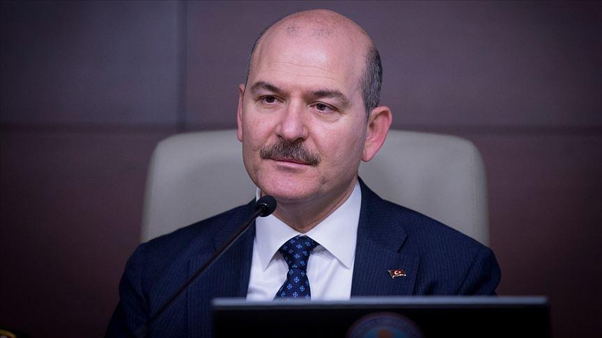"""""""İçişleri Bakanı hangi cemaatten"""" yazısına Bakan Soylu'dan tepki!"""