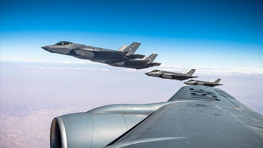 ABD Merkez Kuvvetler Komutanlığından İsrail semalarında provokatif F-35 tatbikatı