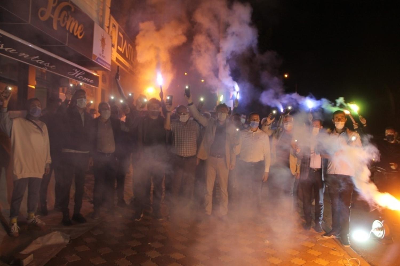 AYM üyesine Amasya'dan 'meşaleli' tepki