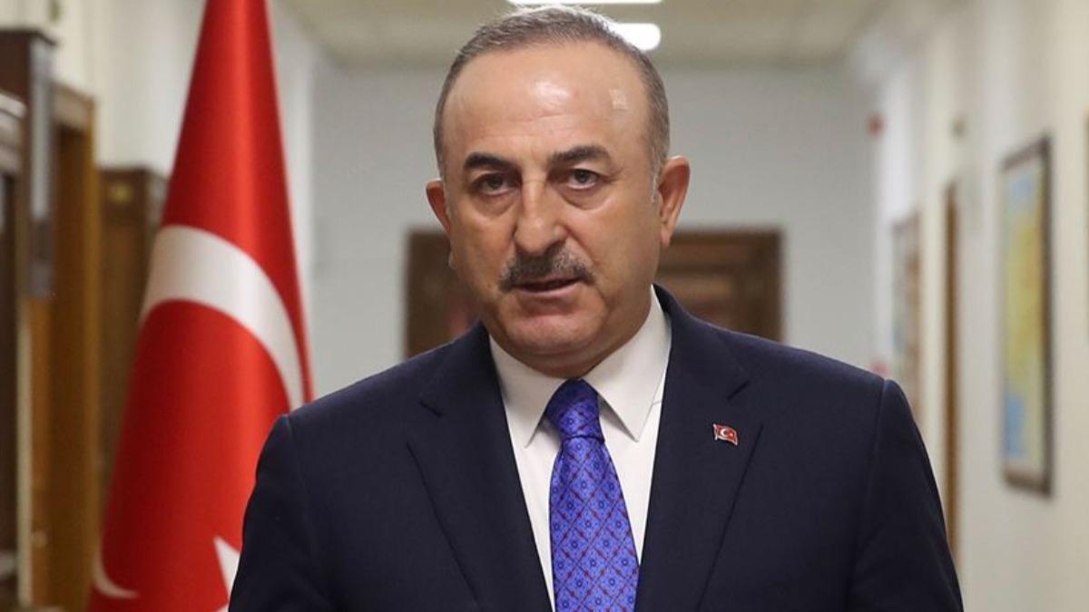 Dışişleri Bakanı Çavuşoğlu: Bir terör örgütü başka bir terör örgütüyle mücadelede partner olamaz