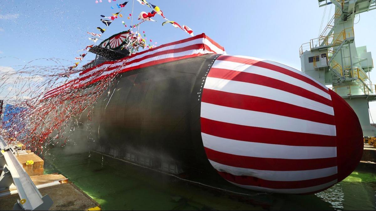 Japonya ve Çin karşı karşıya! 3 bin tonluk 'büyük balina' tanıtıldı