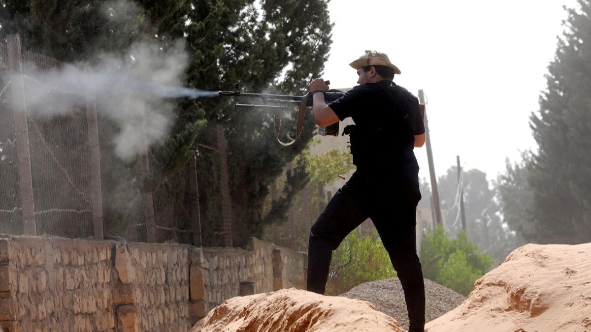 Libya ordusu: Hafter milisleri, ateşkesi yeniden ihlal etti