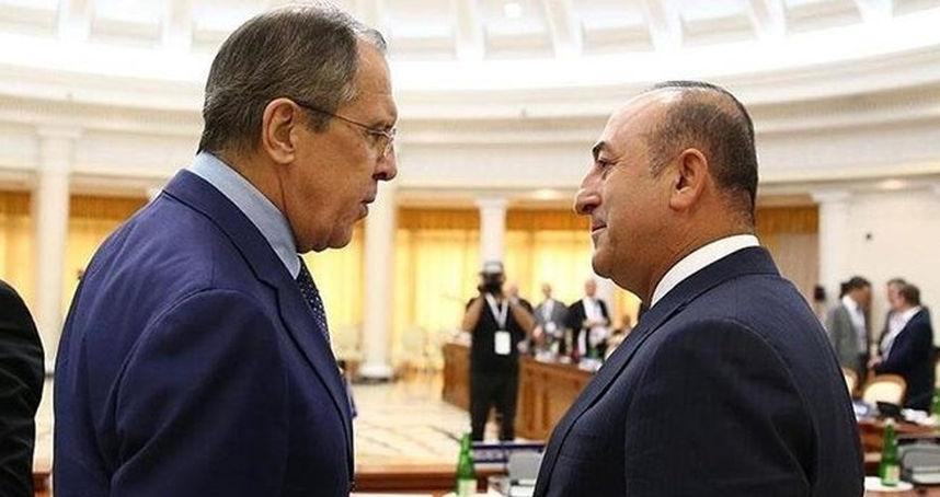 Mevlüt Çavuşoğlu, Rusya Dışişleri Bakanı ile görüştü